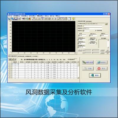 風洞數據采集及分析軟件