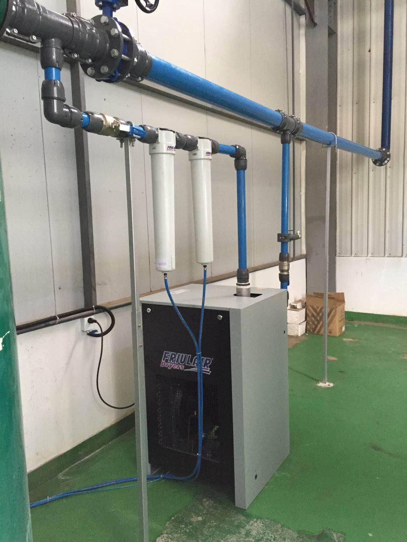 意大利富瑞FRIULAIR冷干机解决 日本模具企业加工中心用气质量问题