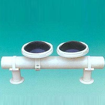 球冠形可张微孔曝气器