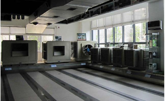 科瑞莱环保空调展厅
