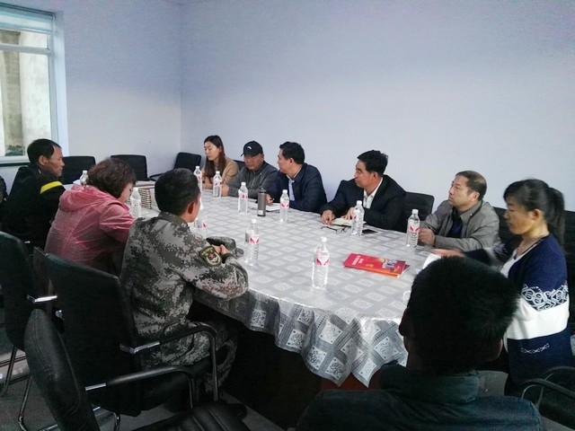 """市政協副主席郭成喜指導春化鎮上草帽村""""兩..."""
