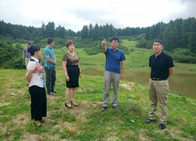 市政協主席張國華實地踏查琿春歷史文化遺址