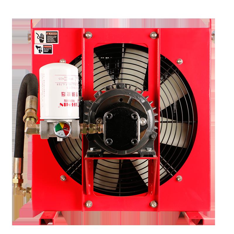 液压系统风冷却器
