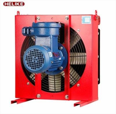 DXF系列防爆电机型风冷却器-风冷却器厂家-直销-江苏贺力克流体科技有限公司