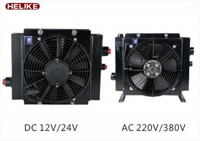 HLK-20带风扇风罩液压油冷却器-冷却器直销-批发-江苏贺力克流体科技有限公司