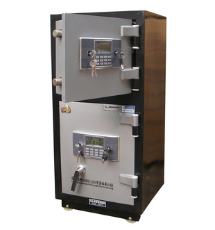 電子防火防盜雙門型保險櫃