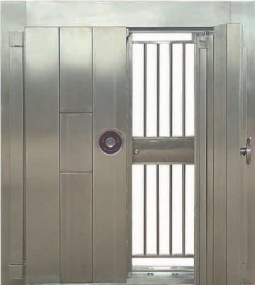 雙開式不鏽鋼金庫門