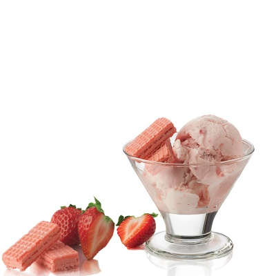 Ice cream glass