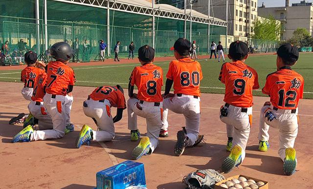棒球少年战胜北京育才小学