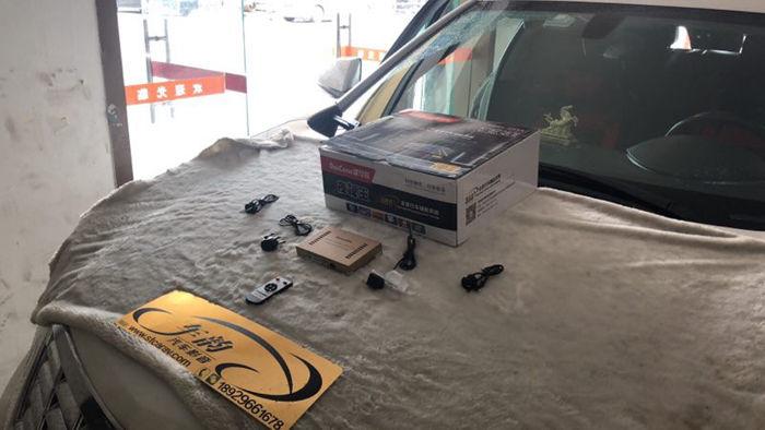 凯迪拉克SRX加装道可视360全景行车记录仪汕头汽车专业改装实体店
