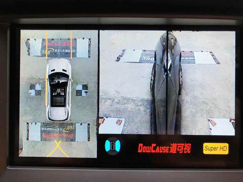 丰田CHR加装道可视360°全景行车记录仪辅助系统,汕头车韵汽车音响改装隔音店出品
