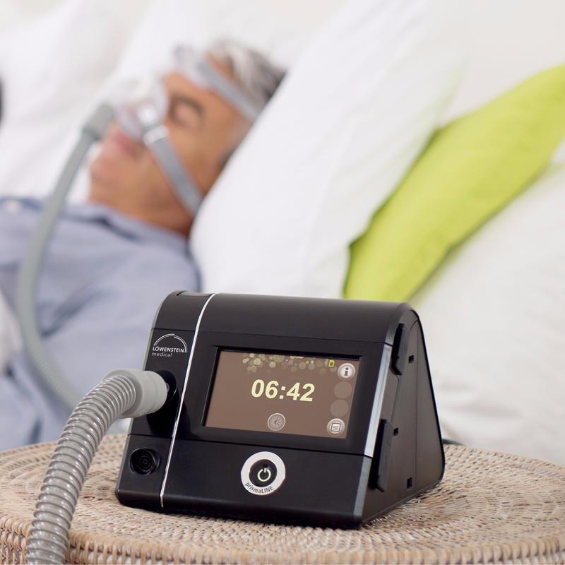 德国律维斯泰因呼吸机万曼呼吸机自动单水平睡眠呼吸机prismaSMART