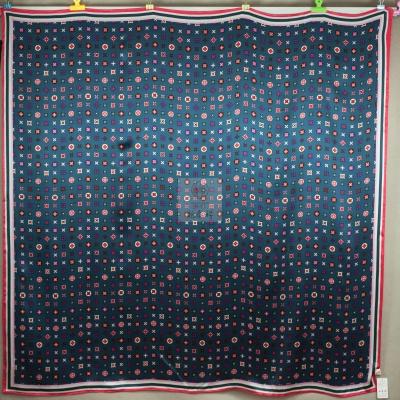 真丝印花大方巾 XL  2200009-01