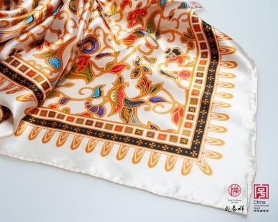 真丝印花大方巾 2200002-43