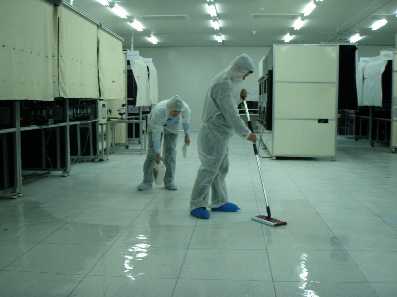 精密电子厂保洁