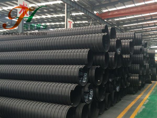 HDPE 钢带增强螺旋波纹管