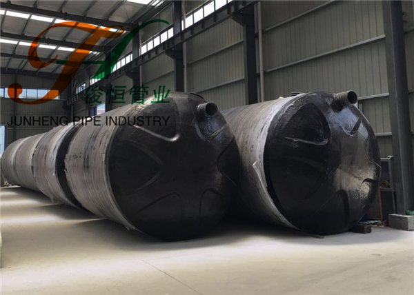 40m³玻璃钢化粪池