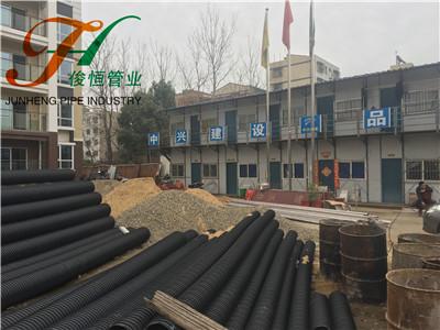 襄阳消防支队塑钢复合管