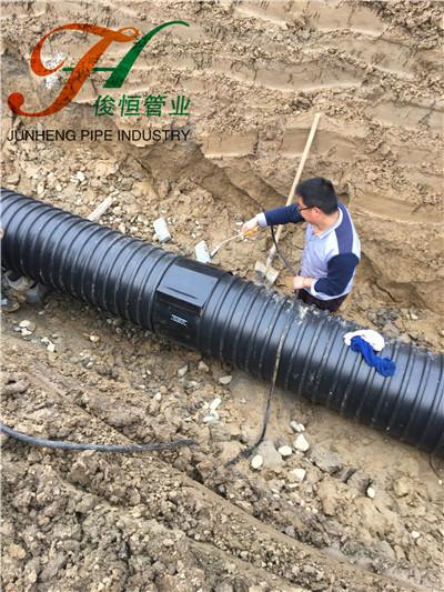 襄阳产业大道钢带管