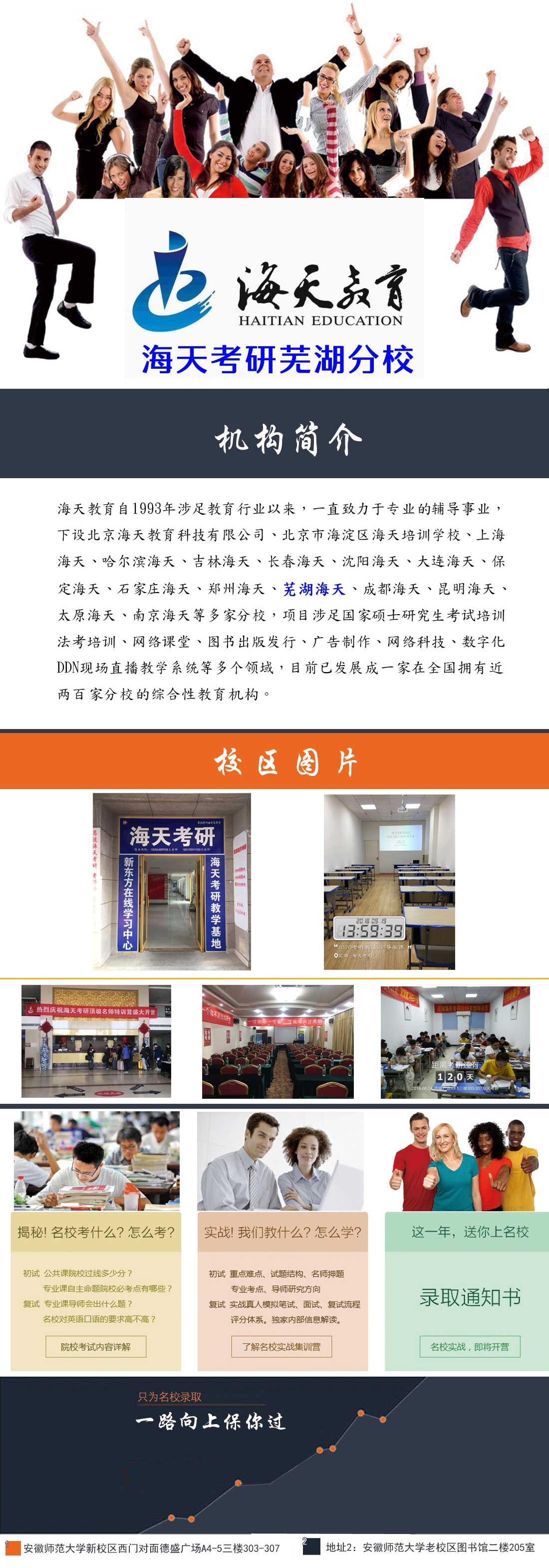 芜湖海天考研培训机构