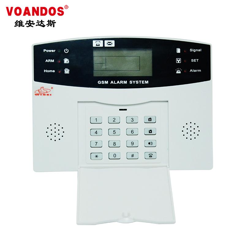 双网GSM智能防盗报警主机     WS-G813LW