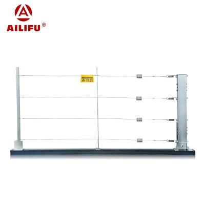 四線雙防區張力圍欄控制器(含底座)  WS-ZL2/4