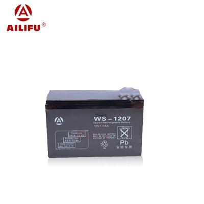 12V 7A 蓄电池  WS-1207