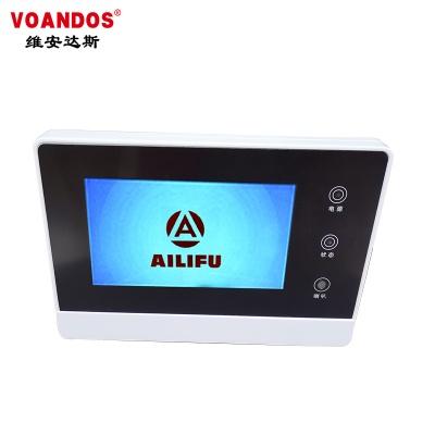 中文觸摸屏圍欄鍵盤控制器WS-WJP03