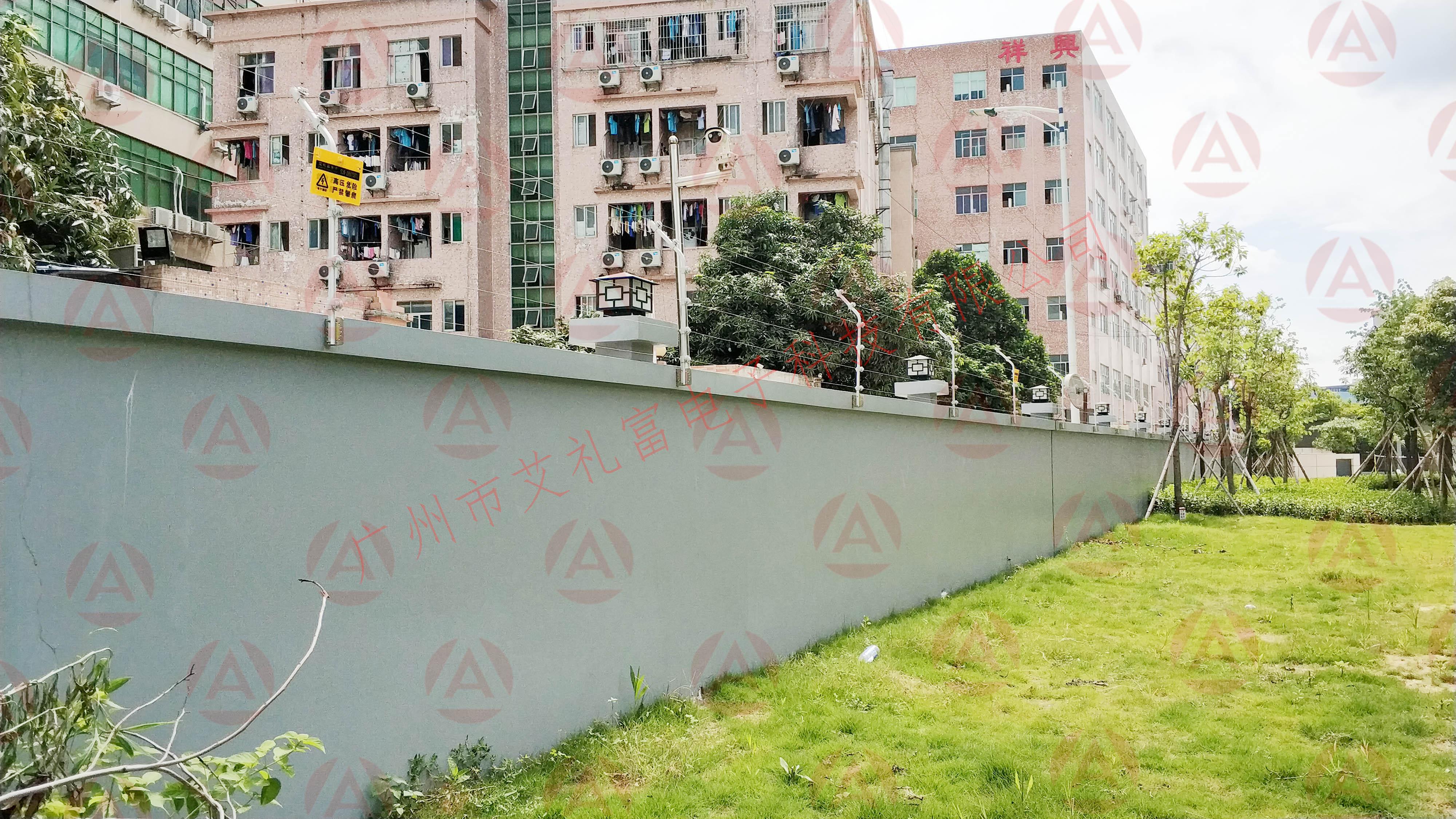 電子圍欄案例——深圳某辦公大樓