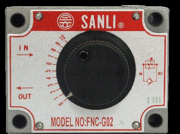 平面型調速閥