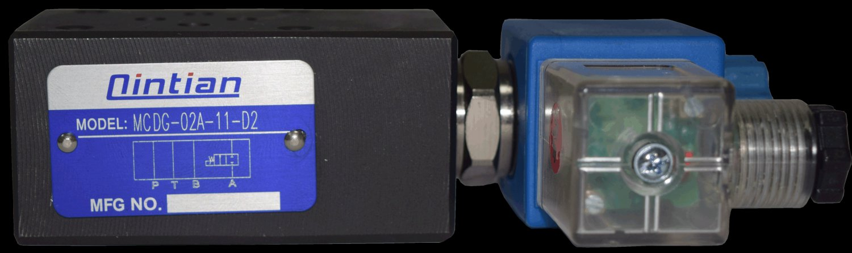 疊加式電控單向閥