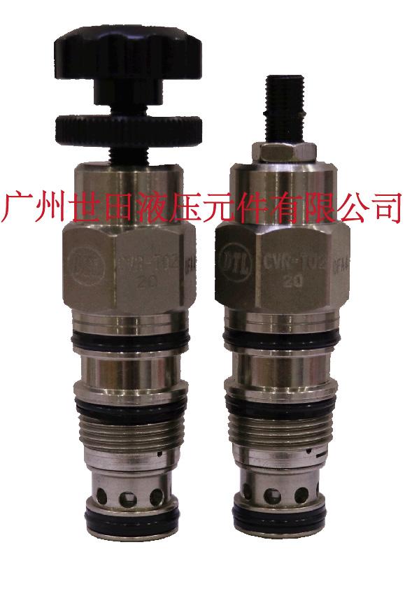 CVR-T02先導式溢流閥