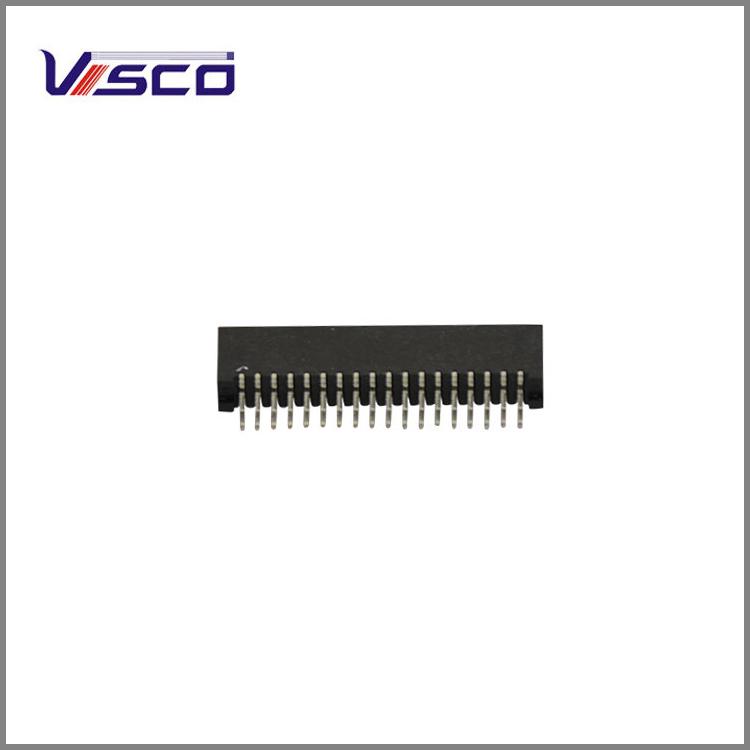 镀金高速信号插座的连接方法