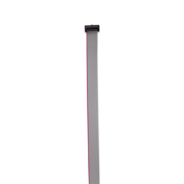 指纹机IDC排线 2.54间距IDC排线 耐高温IDC连接排线
