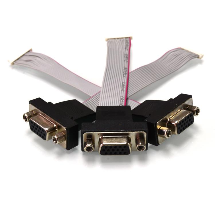 摄影机IDC排线 耐高温idc排线 维新科排线制造厂