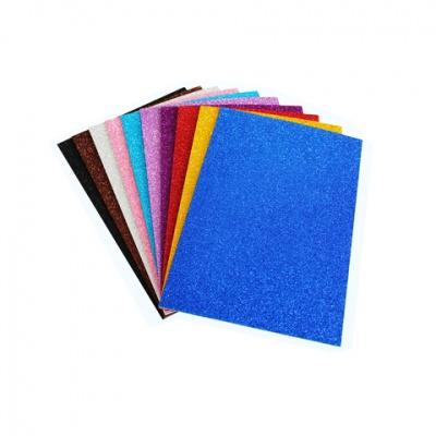 金葱粉EVA海棉纸-混色10片/包