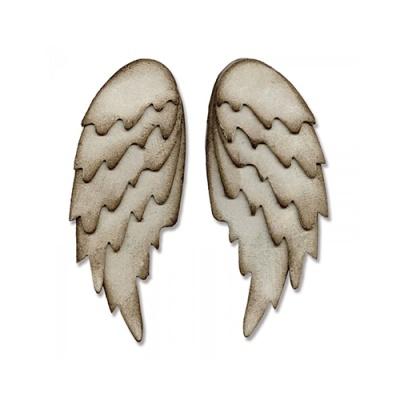 厚模板(大)-天使翅膀 RY-HL-ZS0013