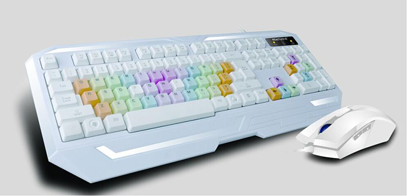 8800彩虹键盘
