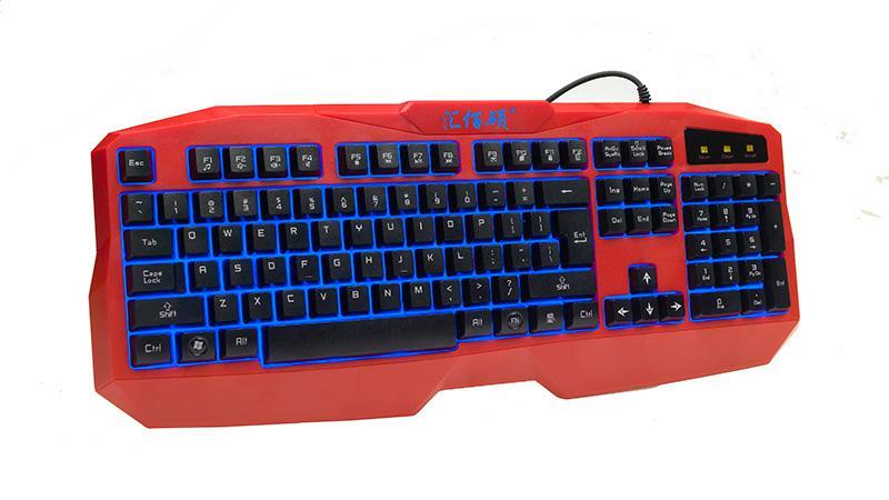 K3200单键盘红色