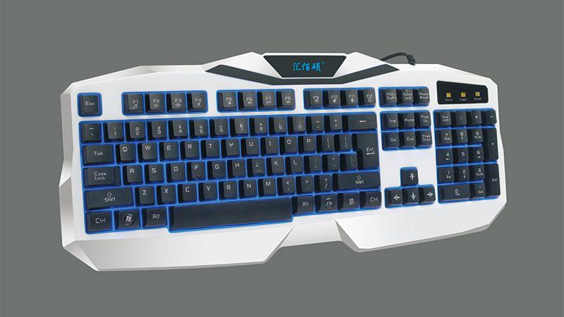 K3300单键盘白色