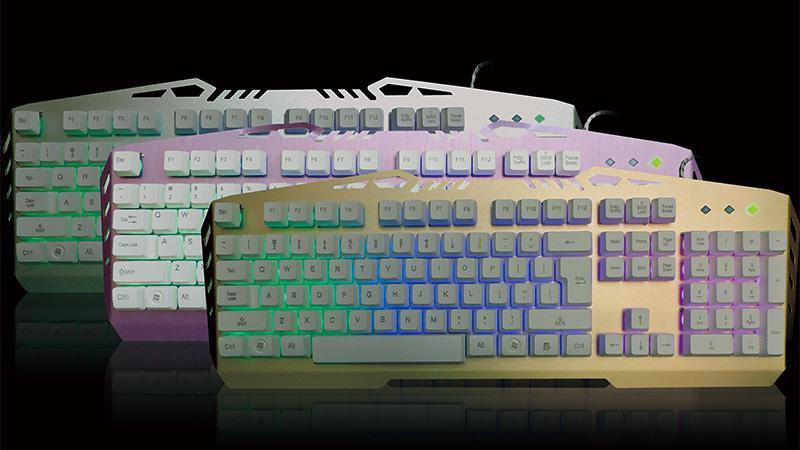 K3600金属面板键盘