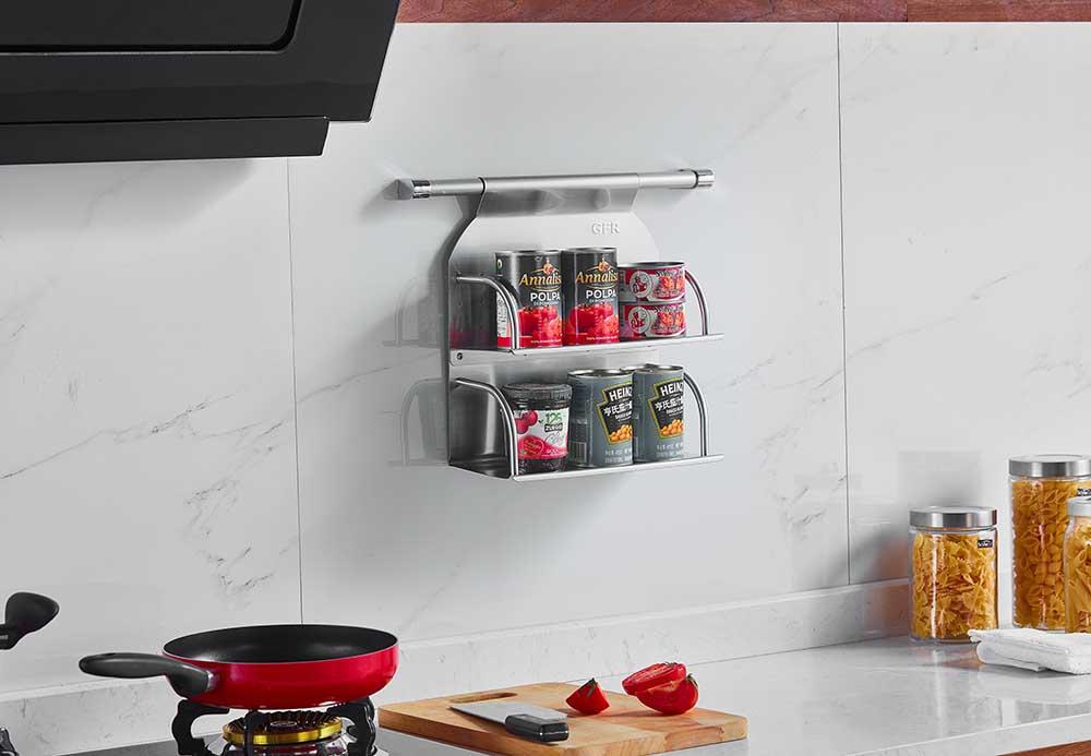 厨房挂件 厨房拉篮 调味架