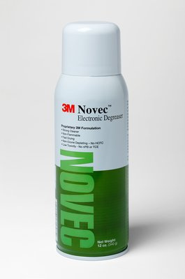 绿色喷罐清洗剂 3M™ Novec™ Electronic Degreaser 12 oz can 6 cans per case