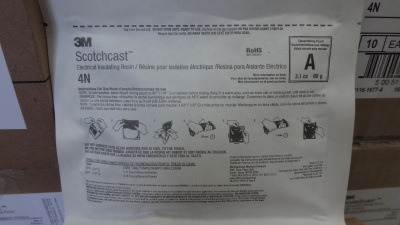 3M 4E#树脂 Scotchcast Electrical Insulating Resin 4E (10.3 oz) 10 per case-OBSOLETE