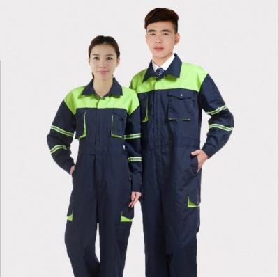 襄阳工作服定做连体服订制中石化加油站劳保服工衣厂服生产加工