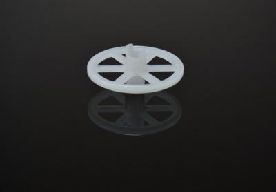 欣汉生 φ50*φ8*20L PP滚轮片 行辘子 输送滚轮片 耐酸碱耐磨