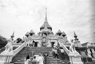 泰国著名寺庙——金佛寺