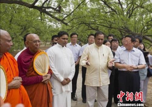山西大佛寺与斯里兰卡圣菩提寺共建友好寺院