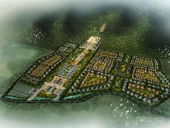 [河南]佛教文化旅游区规划设计方案