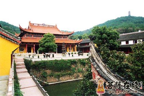 湖州道场山万寿寺